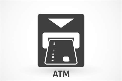 Atm card slot icon ~ Icons ~ Creative Market