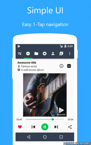 Musicolet – Music Player v1 0 1 for Android | MOBILISMAPK