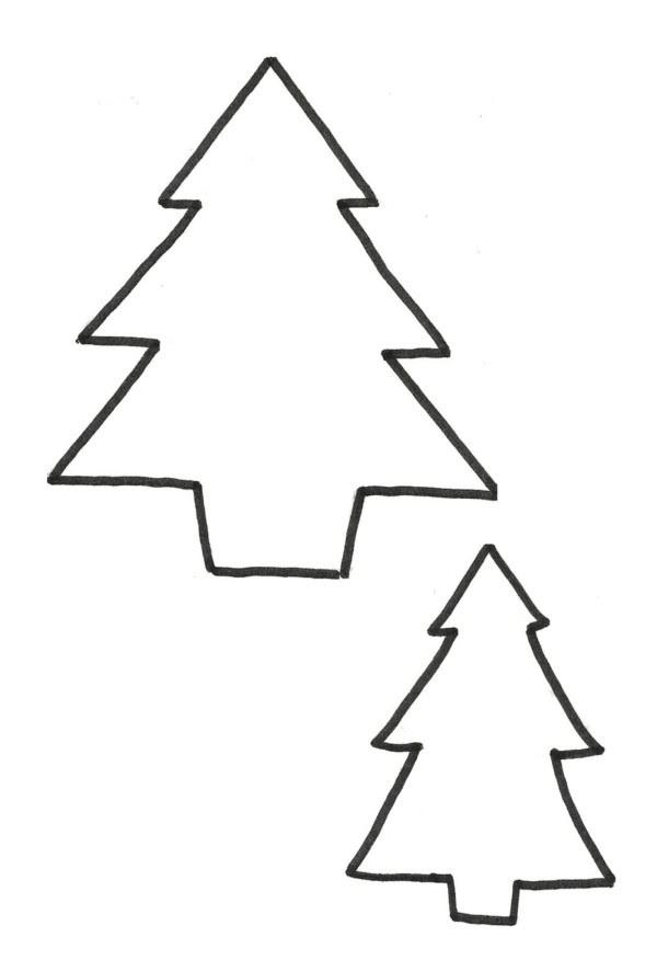 Dibujos Para Colorear De Un Pino De Navidad Auto Electrical Wiring