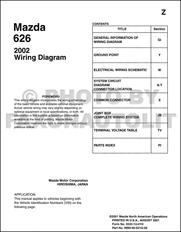 Autosportswiring  Wiring Diagrams 1987 Mazda 626