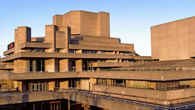 The National Theatre on London's Southbank was completed in 1976 (Getty)
