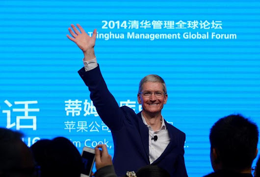 In meeting with Apple's Cook, China regulator stresses security