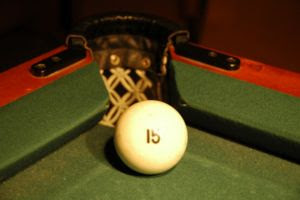 Russian billiard ball, demonstrating the tight...