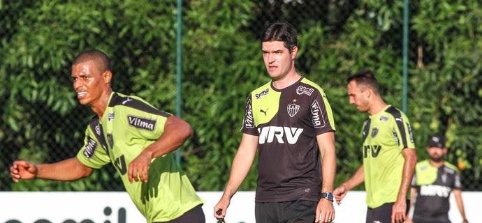 Atlético-MG; Lucas Cândido; Diogo Giacomini (Foto: Bruno Cantini)