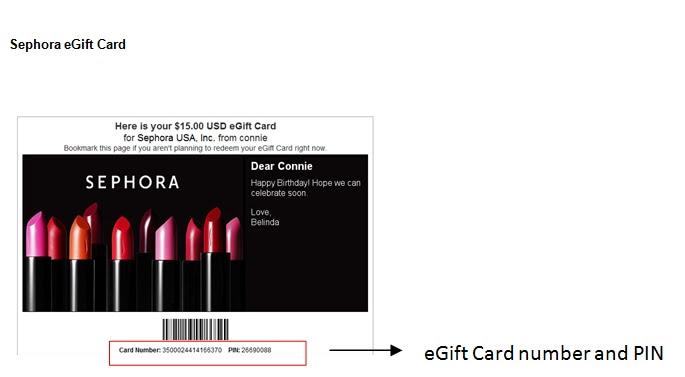 Customer Service - Gift Cards & eGift Certificates | Sephora