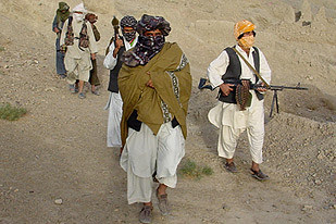 "Taliban units on patrol in Afghanistan. The resistance movement to US/NATO occupation has issued a ""Code of Conduct"" manual. Casualties are mounting among both the Afghan people and the imperialist troops. by Pan-African News Wire File Photos"
