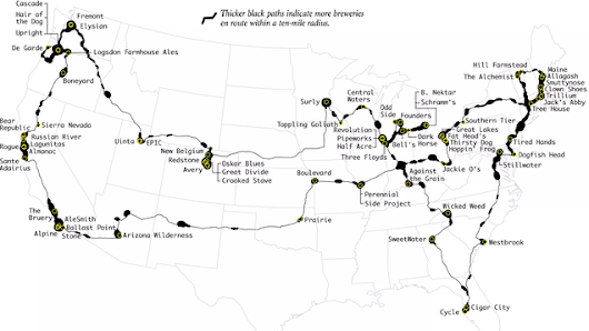 Visit the Best Breweries in the US in One Road Trip