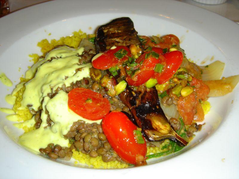 Middle Eastern Inspired Vegetarian Platter
