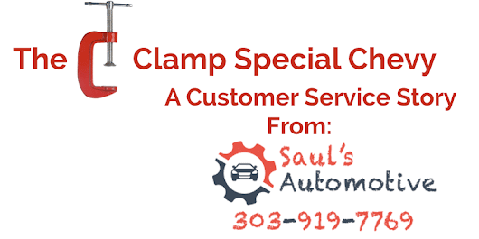 The C Clamp Special Chevy Van - Sauls Automotive