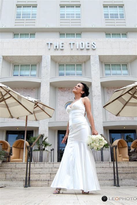 The Tides South Beach Hotel Weddings   Get Prices for