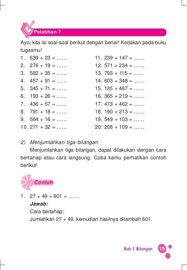 Matematika kelas 3 SD