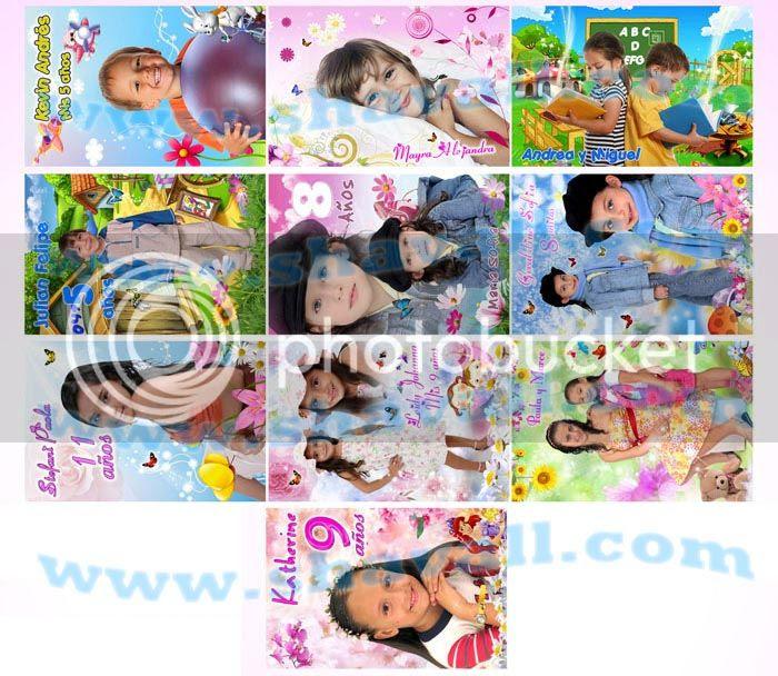 Marcos para niños niñas