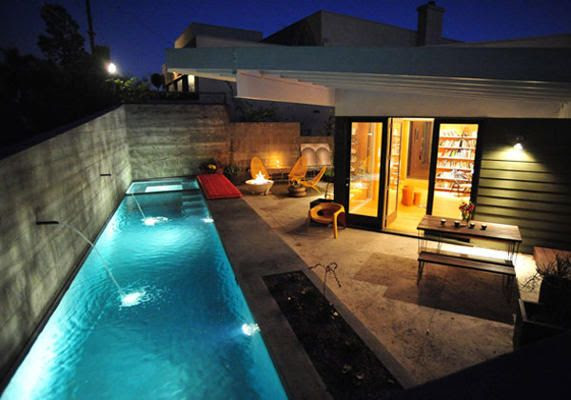 Small Back Yard with Pool