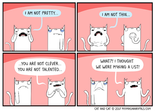 Cat and Cat Comic - Cat comic starring Cat and Cat. A cat comic for cat lovers, haters, and neutrals alike.