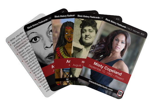 Black History Flashcards, Vol 2: Women | Urban Intellectuals Store