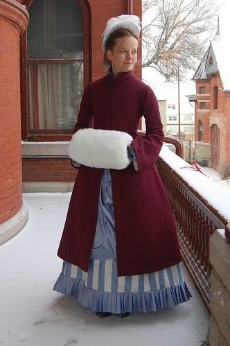 An 1880s Bustle Coat