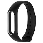 TAMISTER Replacement Sports Wristband for Xiaomi Mi Band 2 BLACK