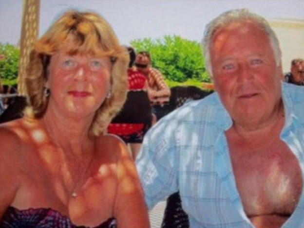 Confirmed dead: John Welch, 74, from Corsham in Wiltshire, and his partner Eileen Swannack, 70, who were staying at the Hotel Riu Imperial Marhaba