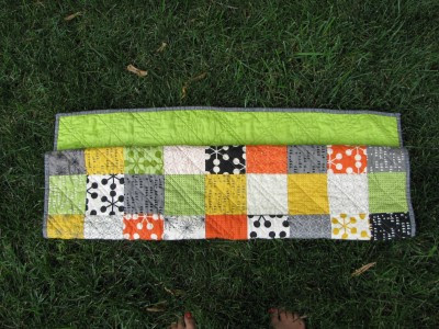Tucked Quilt Fold (3)
