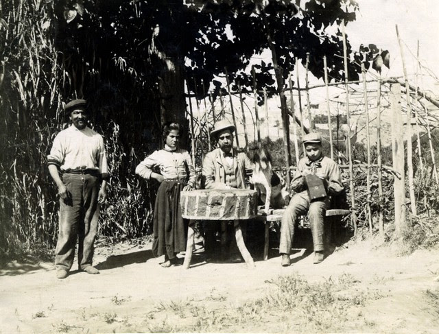 Riberas del Tajo en junio de 1905. Fotógrafo anónimo. Colección Luis Alba. Ayuntamiento de Toledo