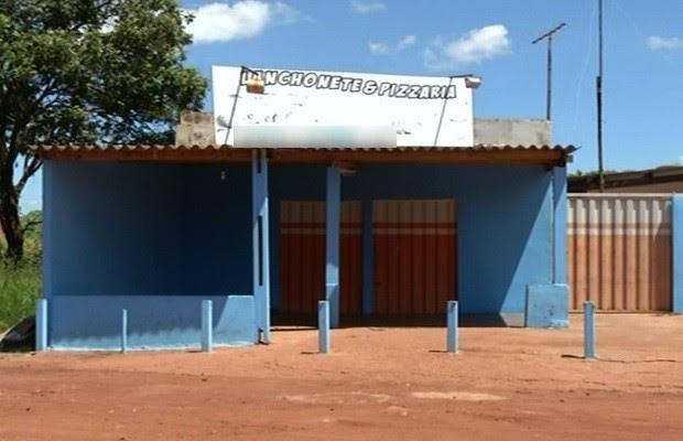 Dono de pizzaria é morto durante assalto após orar alto, diz delegado em Goiás (Foto: Reprodução/TV Anhanguera)