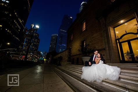 City Club Wedding Photography Los Angeles   Gina   Dan [JG