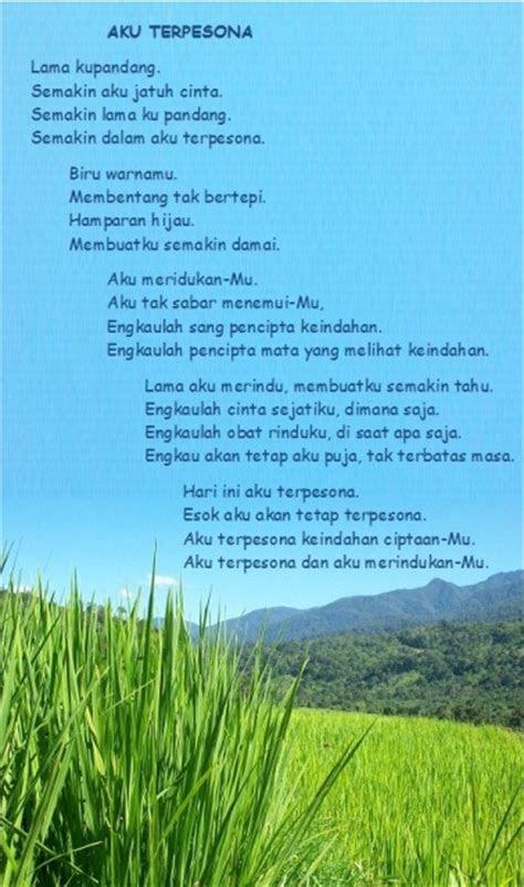 kumpulan puisi tentang hutan kata kata cinta mutiara