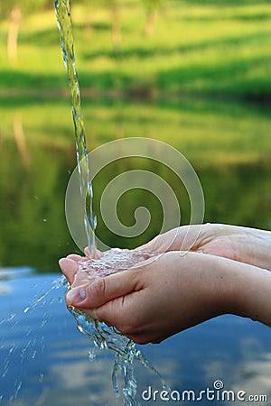 Conceito Da Agua Potável Imagem de Stock Royalty Free - Imagem: 19799146