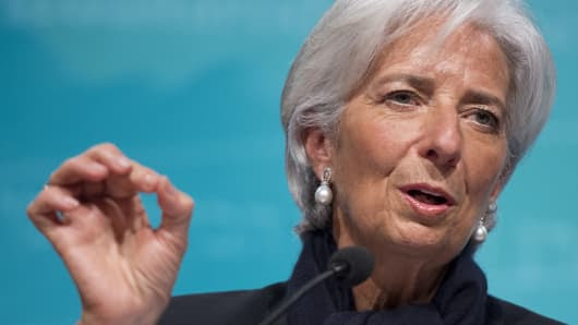 Diretor do FMI, Christine Lagarde