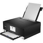 Canon 3775C002 PIXMA TS TS8320 Black Inkjet Multifunction Printer - Color - 4800 x 1200 dpi Print
