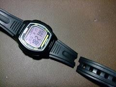 手錶斷裂了