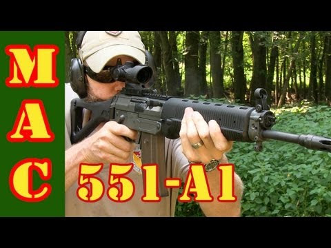 P3 Ultimate Shooting Rest – Sig Sauer 551-A1 Rifle