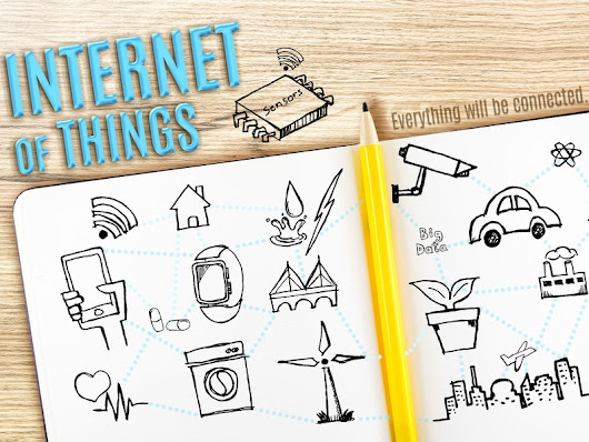 The entire internet of things world (infographic)