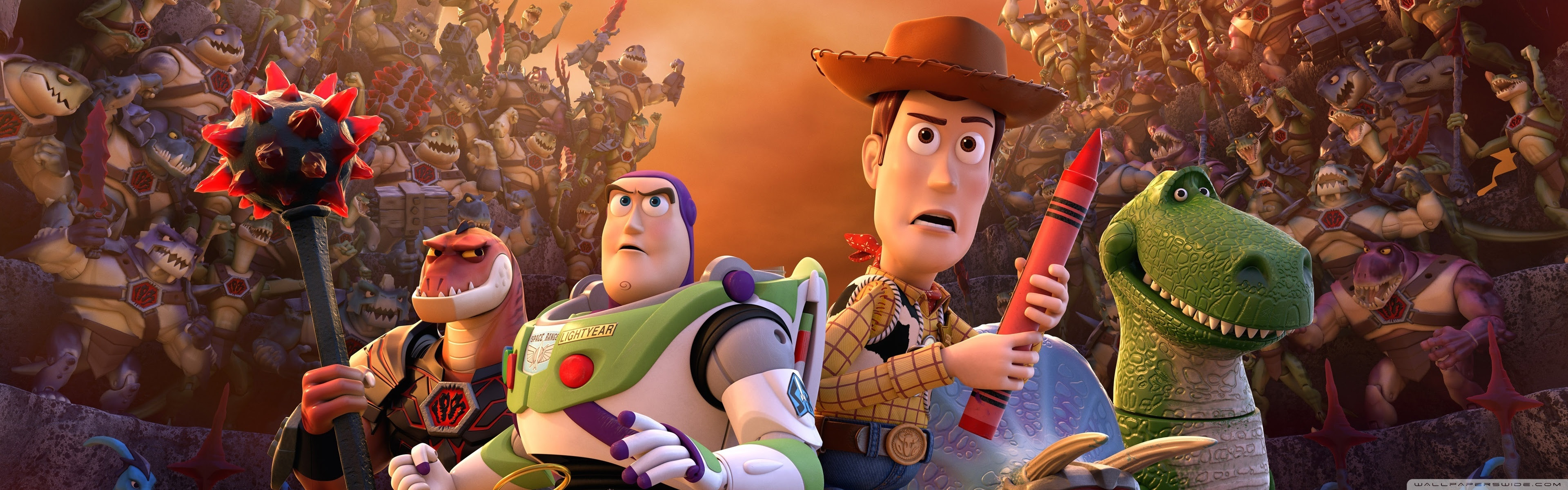 Toy Story That Time Forgot Ultra Hd Desktop Background Wallpaper