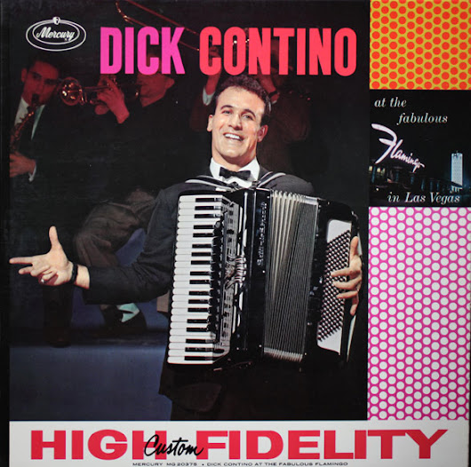 Legendary Accordianist and Showman DICK CONTINO Passes, Man Who 'Made' the Accordian Will Be Missed