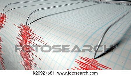 Τράπεζα Φωτογραφιών - σεισμογράφος, σεισμός, αρμοδιότητα. Fotosearch - Αναζήτηση φωτογραφιών, εικόνων, εκτυπώσεων και Clipart