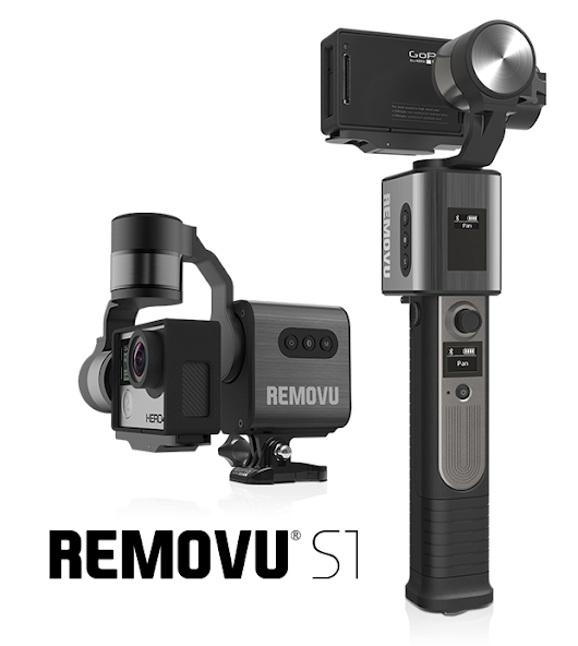 CLICK HERE to support REMOVU S1 -  GoPro Gimbal Stabilizer with Remote