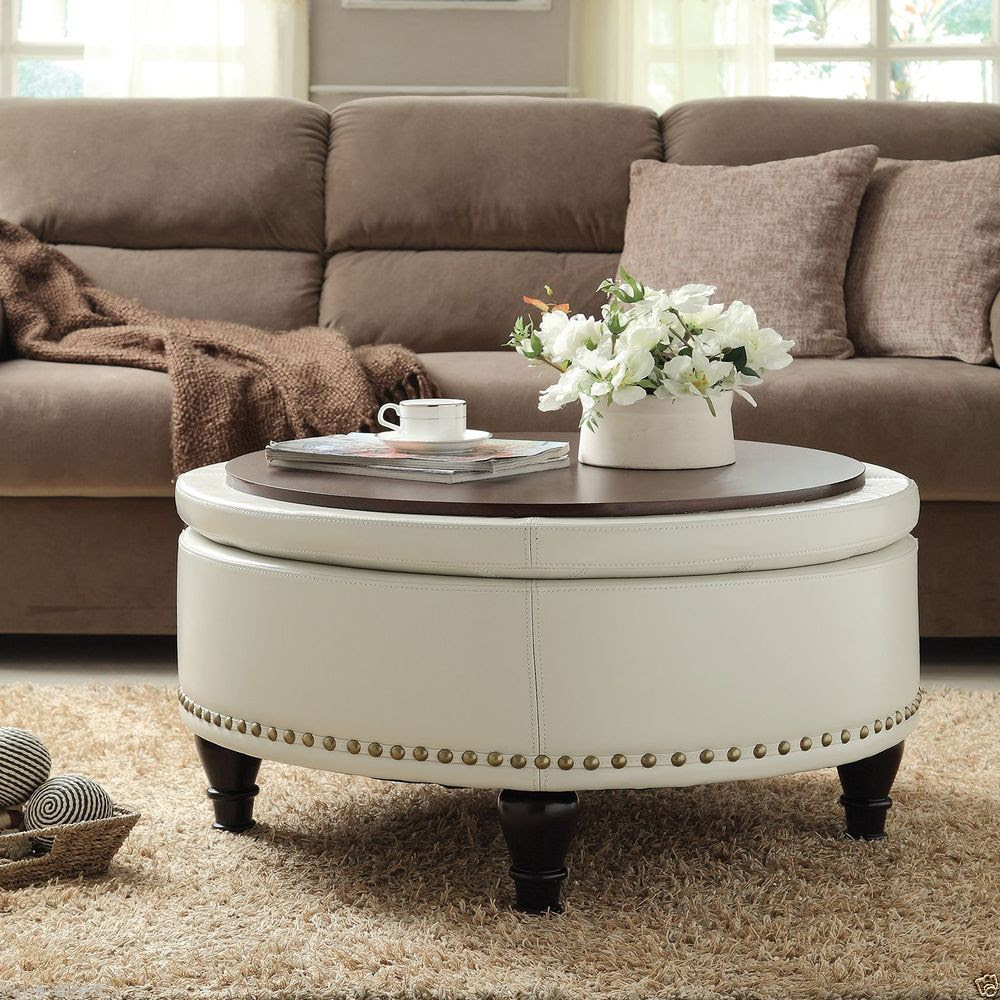 The Round Coffee Tables with Storage – the Simple and ...