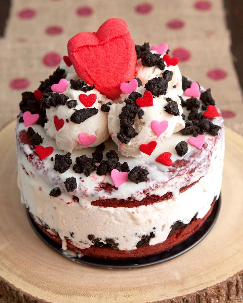 Red Velvet Cream Cheese Ice Cream Cake Brownie Bites Blog