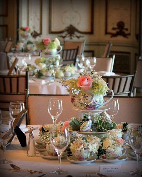 """""""Old, New, Borrowed, and Blue"""" romantic tea themed bridal"""