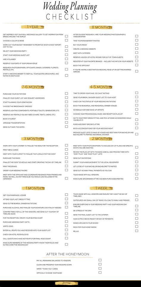 Wedding Planning Checklist   Junebug Weddings