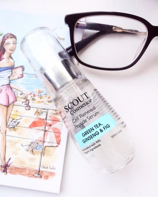 REVIEW | SCOUT COSMETICS' CELL RENEWAL PEPTIDE SERUM WITH GREEN TEA, GINSENG AND FIG