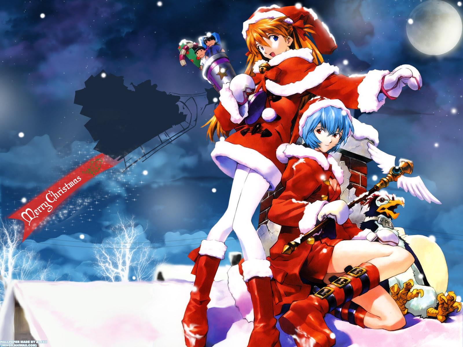 Unduh 93+ Wallpaper Hd Anime Natal Terbaik