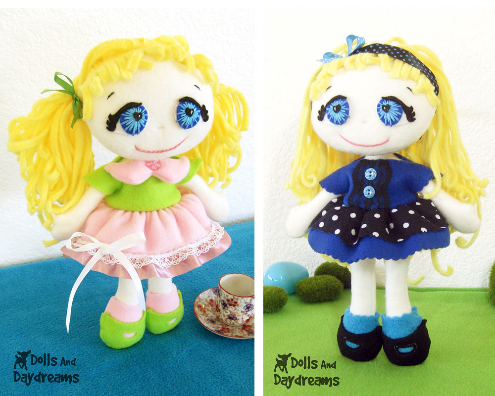 fefe fleece doll sewing pattern easy cute