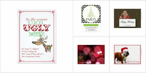 Holiday Cards and Invitations for Businesses
