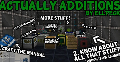 Actually Additions Mod for Minecraft [1.11.2/1.10.2/1.9.4] - Azminecraft.info