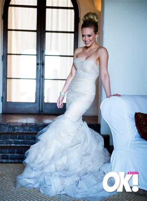 Hilary Duff in Her Wedding Gown   Hilary Duff   Skinny VS