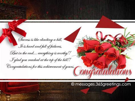 congratulations wishes messages   365greetings.com