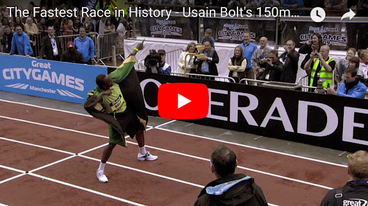 WATCH: The day Usain Bolt made history on a rainy street in Manchester - Jamaican Videos