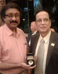 Hong Kong 2015 Gold Medal Winner Mr. K. S. Mohan from Indian and Indian Jury Vispi Dastur